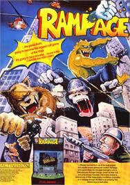 Advert for Rampage on the Sinclair ZX Spectrum.