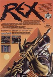 Advert for Rex on the Sinclair ZX Spectrum.