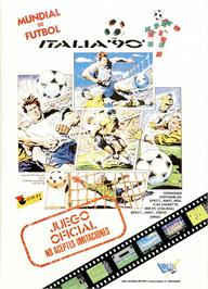 Advert for Rick Davis' World Trophy Soccer on the Amstrad CPC.