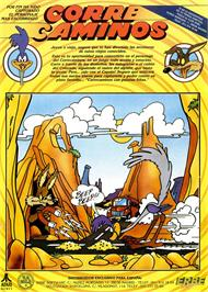 Advert for Road Runner on the Sinclair ZX Spectrum.