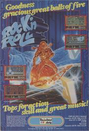 Advert for Rock 'n Roll on the Sinclair ZX Spectrum.