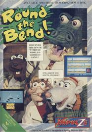 Advert for Round the Bend! on the Sinclair ZX Spectrum.