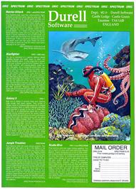 Advert for Scuba Dive on the Sinclair ZX Spectrum.