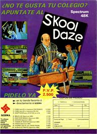 Advert for Skool Daze on the Sinclair ZX Spectrum.