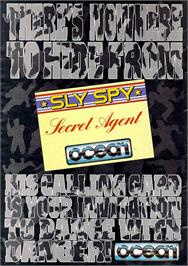 Advert for Sly Spy: Secret Agent on the Sinclair ZX Spectrum.