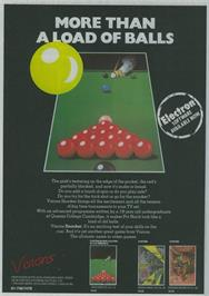 Advert for Snooker on the Sinclair ZX Spectrum.
