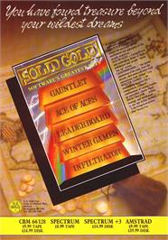Advert for Solid Gold on the Sinclair ZX Spectrum.