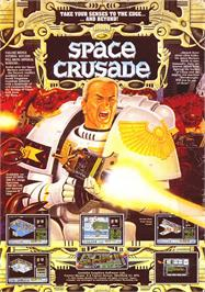 Advert for Space Crusade on the Sinclair ZX Spectrum.