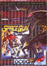 Advert for Space Gun on the Sinclair ZX Spectrum.