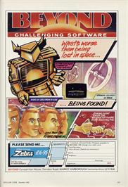 Advert for Space Station Oblivion on the Amstrad CPC.