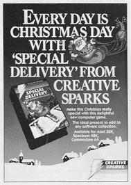Advert for Special Delivery: Santa's Christmas Chaos on the Atari 8-bit.