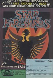 Advert for Star Firebirds on the Sinclair ZX Spectrum.