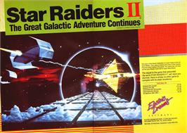 Advert for Star Raiders II on the Commodore 64.