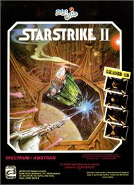Advert for Starstrike II on the Sinclair ZX Spectrum.