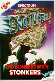 Advert for Stonkers on the Sinclair ZX Spectrum.