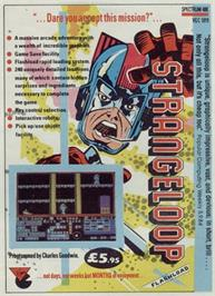 Advert for Strange Loop on the MSX.