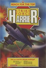 Advert for Strike Force Harrier on the Sinclair ZX Spectrum.