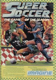 Advert for Superstar Soccer on the Amstrad CPC.