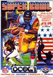 Advert for Super Bowl on the Sinclair ZX Spectrum.