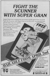 Advert for Super G-Man on the Sinclair ZX Spectrum.