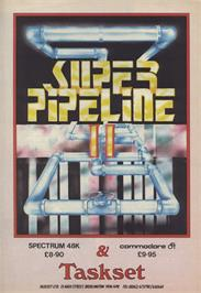 Advert for Super Pipeline II on the Sinclair ZX Spectrum.