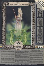 Advert for Swords & Sorcery on the Sinclair ZX Spectrum.