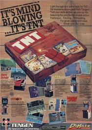 Advert for TNT on the Sinclair ZX Spectrum.