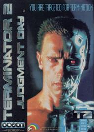 Advert for Terminator 2: Judgment Day on the Sinclair ZX Spectrum.