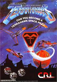 Advert for Terrahawks on the Sinclair ZX Spectrum.