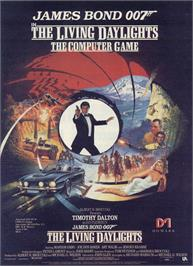 Advert for The Living Daylights on the Sinclair ZX Spectrum.