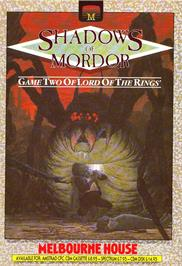 Advert for The Shadows of Mordor on the Sinclair ZX Spectrum.