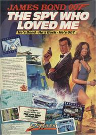 Advert for The Spy Who Loved Me on the Sinclair ZX Spectrum.