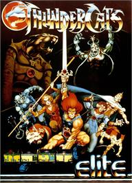 Advert for Thundercats on the Sinclair ZX Spectrum.