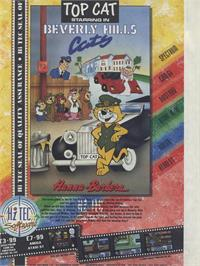 Advert for Top Cat in Beverly Hills Cats on the Commodore Amiga.