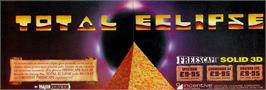 Advert for Total Eclipse on the Sinclair ZX Spectrum.