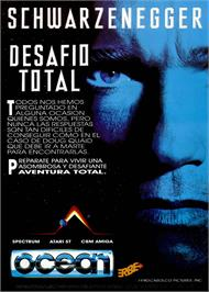 Advert for Total Recall on the Sinclair ZX Spectrum.