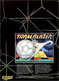 Advert for Trailblazer on the Sinclair ZX Spectrum.