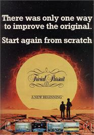 Advert for Trivial Pursuit 2: A New Beginning on the Commodore 64.