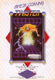 Advert for Twister: Mother of Charlotte on the Sinclair ZX Spectrum.
