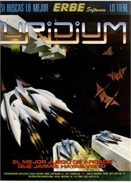Advert for Uridium on the Sinclair ZX Spectrum.