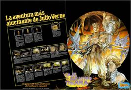 Advert for Viaje Al Centro De La Tierra on the Sinclair ZX Spectrum.