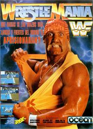 Advert for WWF Wrestlemania on the Sinclair ZX Spectrum.