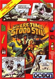 Advert for Where Time Stood Still on the Sinclair ZX Spectrum.