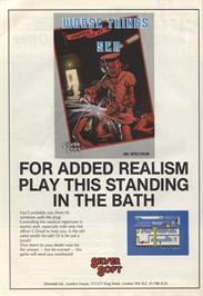 Advert for Worse Things Happen at Sea on the Sinclair ZX Spectrum.