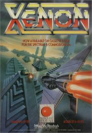 Advert for Xenon on the Sinclair ZX Spectrum.