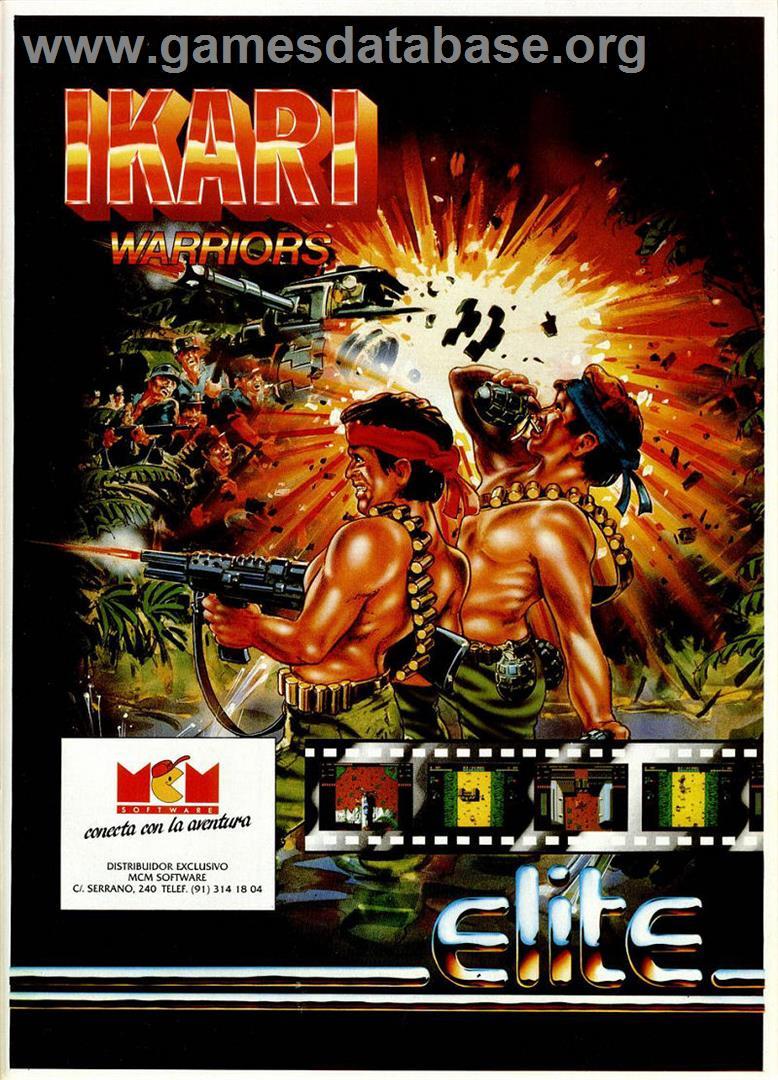 Ikari Warriors - Sinclair ZX Spectrum