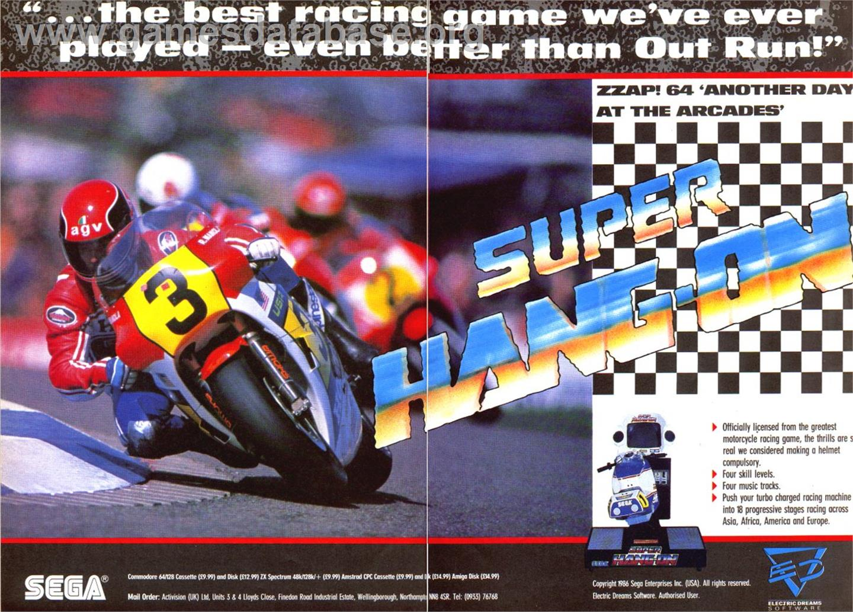 Super Hang-On - Sinclair ZX Spectrum