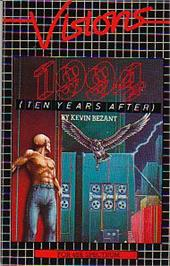 Box cover for 1994: Ten Years After on the Sinclair ZX Spectrum.