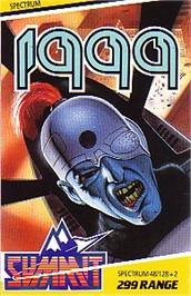 Box cover for 1999 on the Sinclair ZX Spectrum.