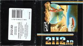 Box cover for 2112 AD on the Sinclair ZX Spectrum.